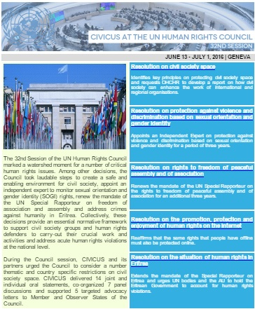 Geneva newsletter