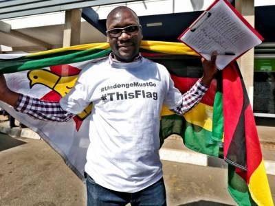 "Zimbabwe: CIVICUS urges release of #ThisFlag Pastor Mawarire, detained and charged with ""treason"""