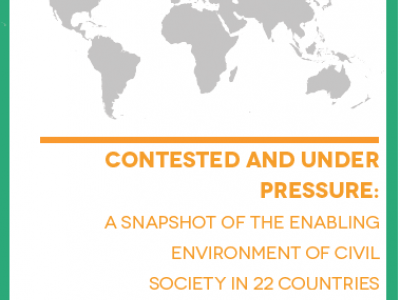 "Civil Society ""Contested and Under Pressure"", says new report"
