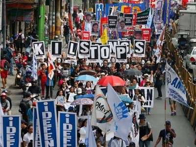 Joint statement on human rights in the Philippines