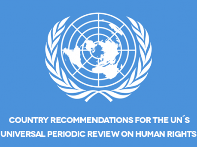 Country recommendations on civic space for the UN´s Universal Periodic Review