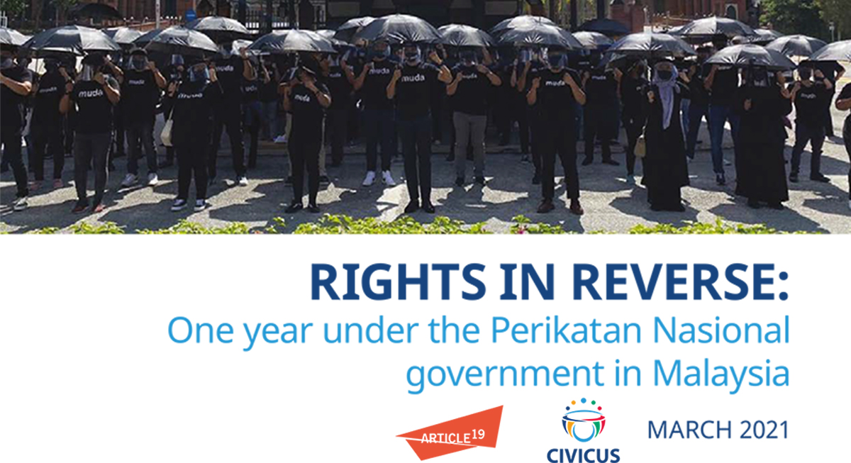 Malaysia: Fundamental freedoms in decline under Perikatan Nasional government