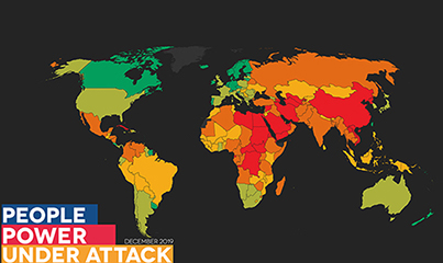 Global Monitor Report: Twice as many people live in repressed countries compared to a year ago