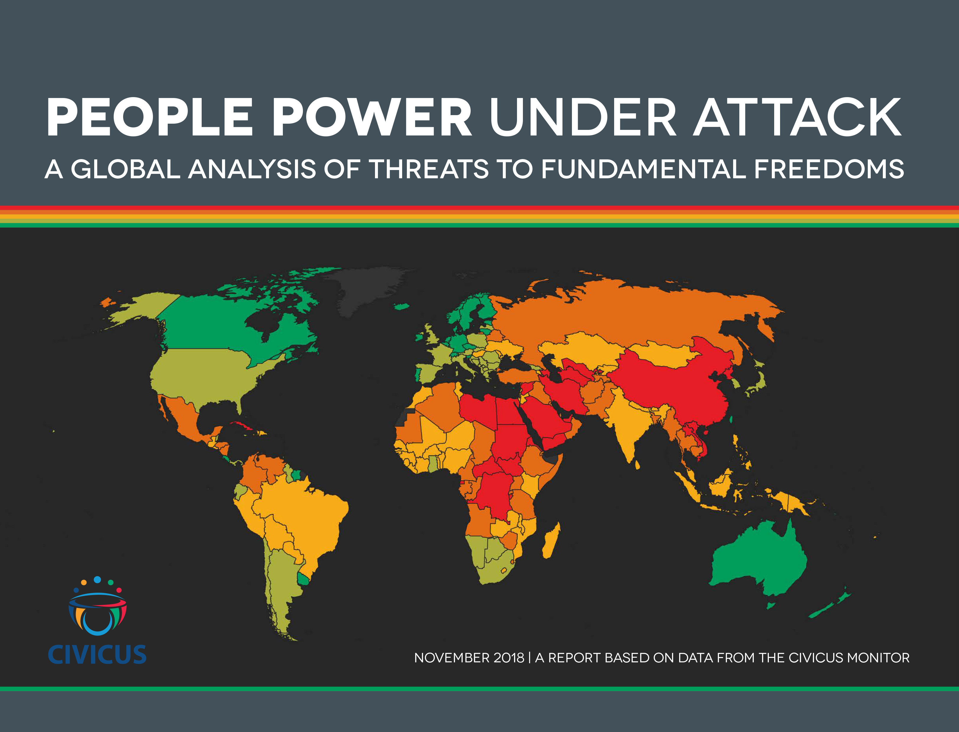 New Report: 6 in 10 countries now seriously repressing civic freedoms