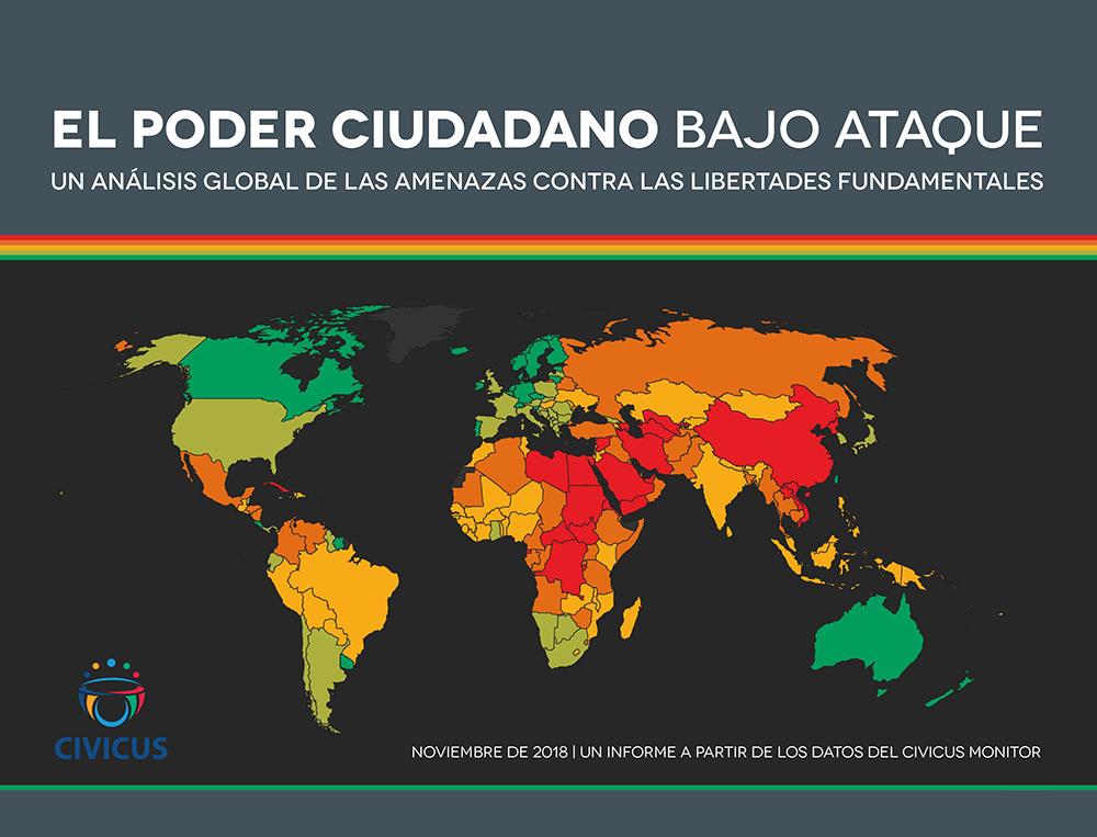 Seis de cada diez países reprimen duramente las libertades cívicas