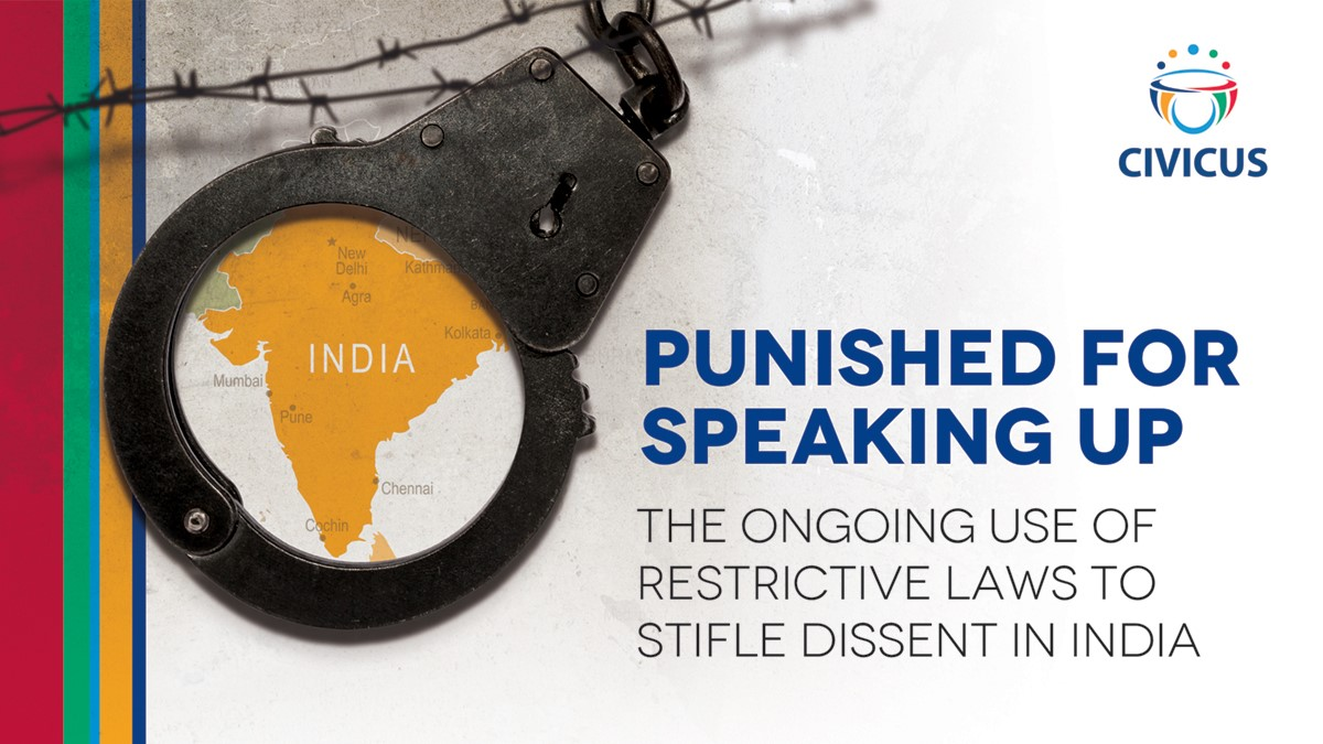 India: Report highlights ongoing misuse of restrictive laws during pandemic to keep activists behind bars