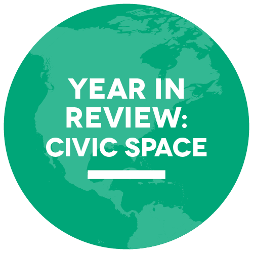 SOCS 2016 Year in Review - Civic Space