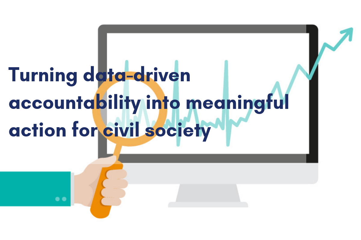 Turning data-driven accountability into meaningful action for civil society