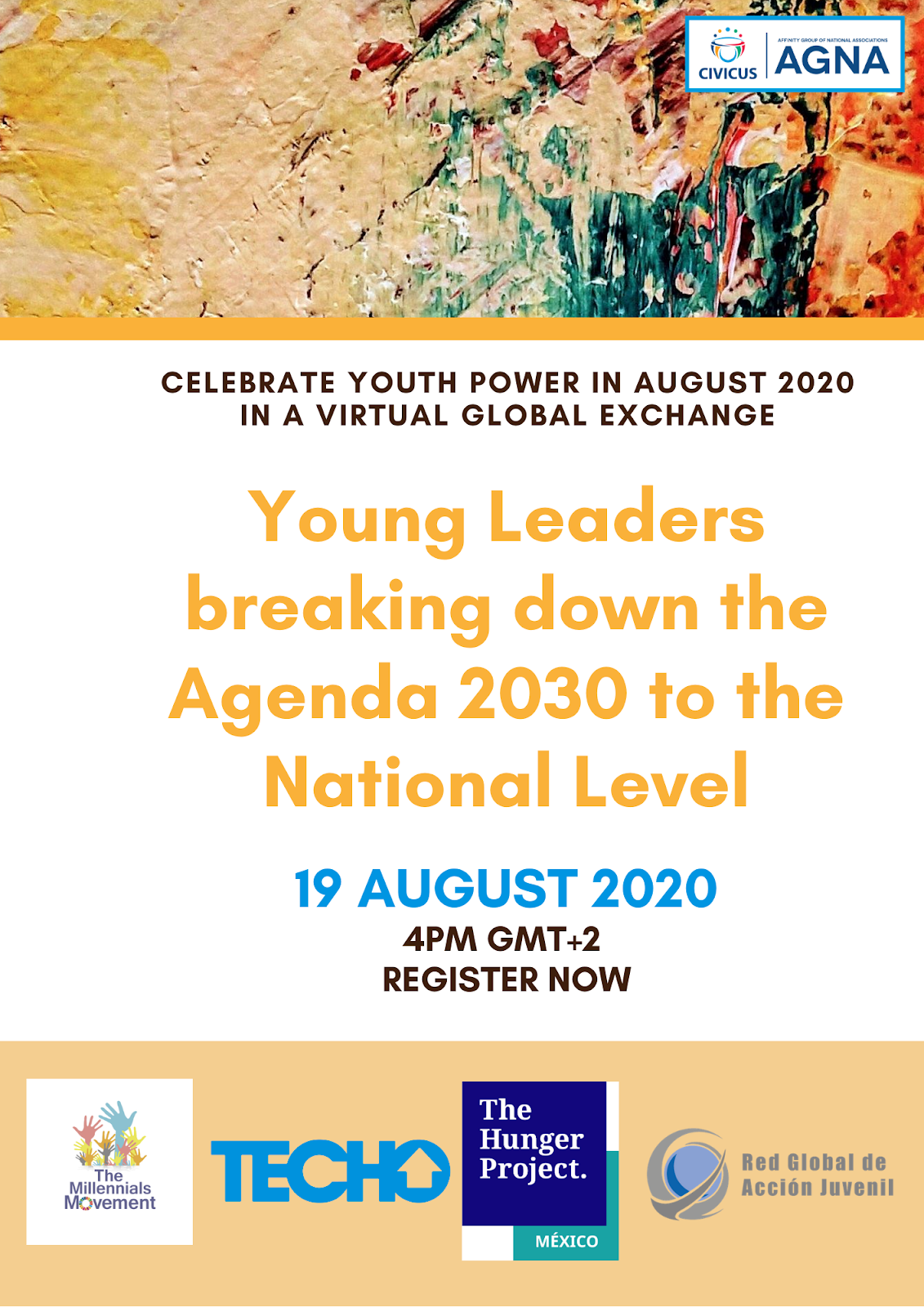 agna young leaders breaking down the Agenda 2030