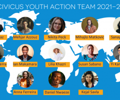 Building a diverse global team of activist for social transformation: Welcoming the CIVICUS Youth Action Team 2021-22