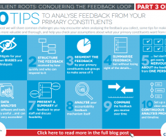 10 tips to analyse feedback from your primary constituents
