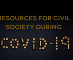 Resources for civil society in the midst of the COVID-19 pandemic