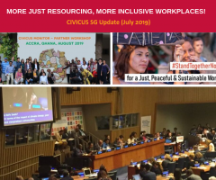 More just resourcing, more inclusive workplaces!