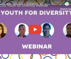 Webinar: Youth for Diversity