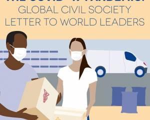 Appel de la société civile aux États: nous sommes tous dans la même situation, ne bafouons pas les droits de l'homme lorsque nous répondons au COVID-19