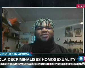 Angola decriminalises homosexuality