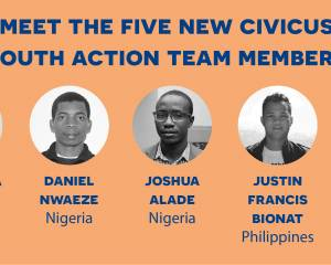 Five CIVICUS members join the Youth Action Team