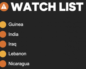 5 countries on civic space watchlist presented to UN Human Rights Council