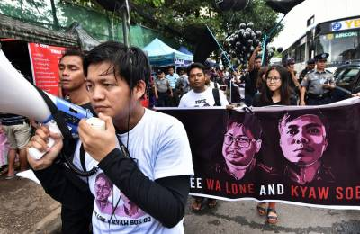 Supreme Court set to rule on Reuters journalists jailed in Myanmar