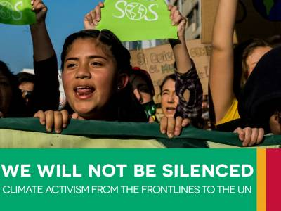 New paper on the restrictionsfacing climate change activists