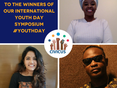 Liberian musician, Indian student and Angolan author named as global creative arts contest winners!