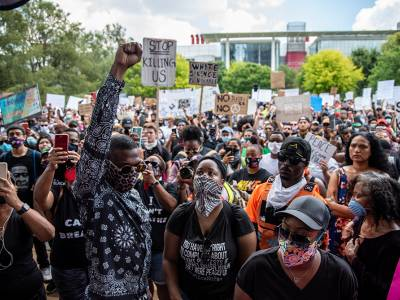 Law enforcement agencies and decision makers must respect the right to protest in the US