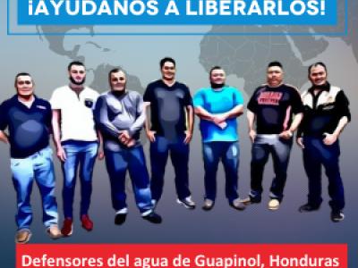 Honduras : Libertad para los defensores de los derechos humanos de Guapinol detenidos arbitrariamente desde hace dos años