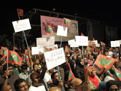 Attacks on opposition and media continue as elections approach in Maldives