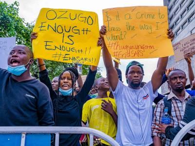 Nigeria: Urgent call to end violence against #EndSARS protesters