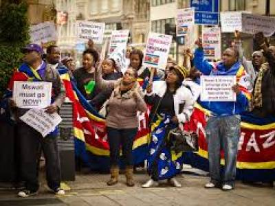 Global rights group condemns violent repression of peaceful protests in eSwatini (formerly Swaziland)