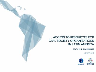 Latin American civil society receives little funding and support for its vital work of political and social change