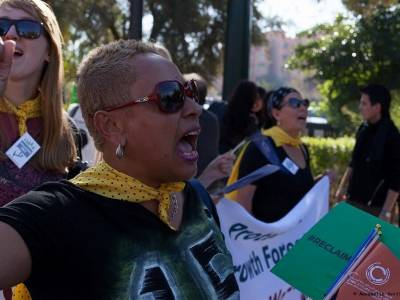 CLIMATE CHANGE: Feminists have pushed for marginalised voices to be heard