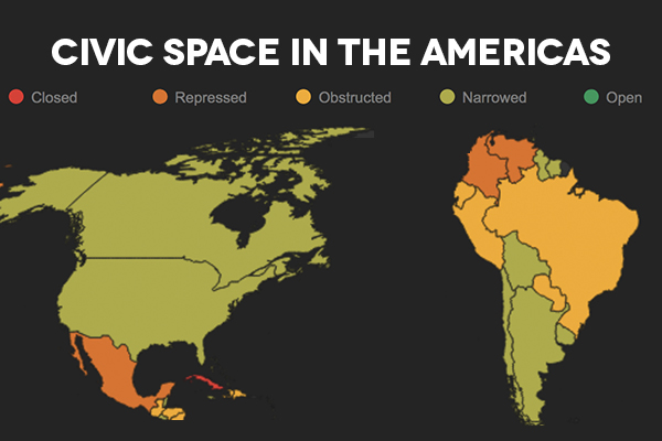 New Report: Civic Space in the Americas