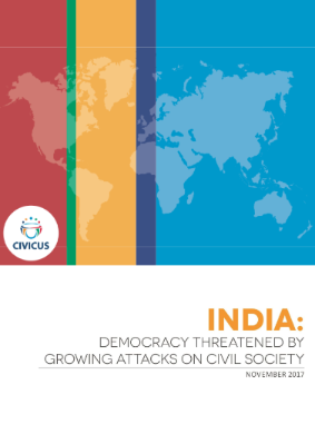 India: Democracy threatened by growing attacks on civil society
